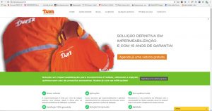 Website Dan Solução - Home